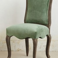 Velvet Beatrix Dining Chair by Anthropologie