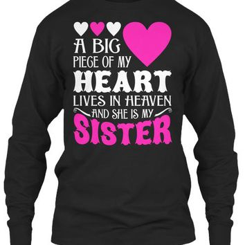 My Heart Lives In Heaven My Sister
