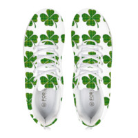 Irish Heritage Shamrocks Running Shoes
