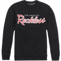 Young & Reckless OG Dana Crew Fleece - Mens Hoodie - Black