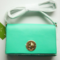 Kate Spade Sally Brightspot Avenue Bright Berry (green) Cross body Bag