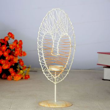 Home Decoration Creative Candle Stand = 5893354881