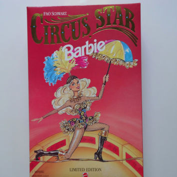 Vintage Circus Star Barbie Doll NEW 1994