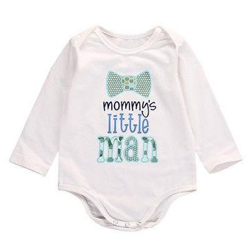 Newborn Toddler Infant Baby Boys Girls Romper Jumpsuit Clothes Outfits