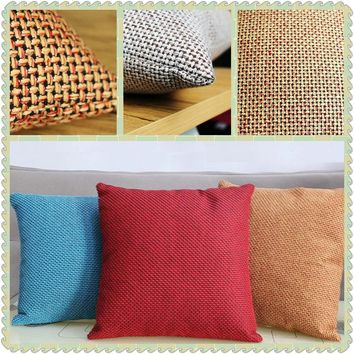 Maiyubo Luxury Hotel Cushion Cover Pure Color Environmental Knitted Pillowcases Bed Car Decor Vintage Scandinavian Pillow PC490