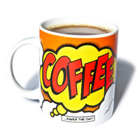 Gift Republic Coffee Comic Book Mug Multi One