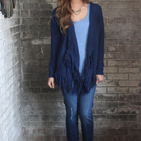 Hunter Fringe Cardigan