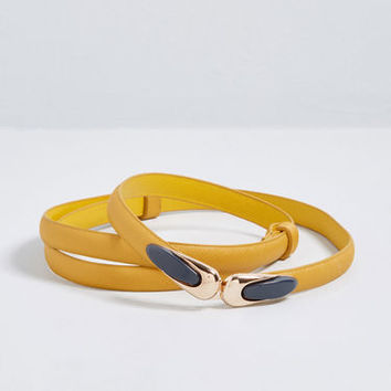Livened Up Adjustable Belt