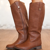 Season Change Riding Boots Brown CLEARANCE