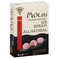 Mochi® Strawberry Ice Cream - 6ct