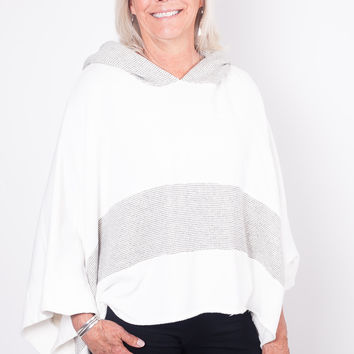 Free People Never Say Never Poncho OB588175