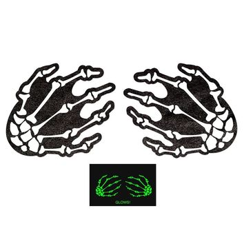 Pastease Glow in the Dark Skeleton Hands Pasties