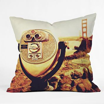 Shannon Clark Bridge View Throw Pillow