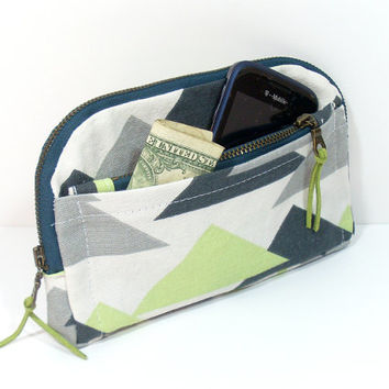 Zip Around Wallet, Wallet with Pockets, Cell Phone Wallet, Organizer Wallet, Credit Card Wallet, Womens Wallet, Clutch Wallet, Custom Wallet
