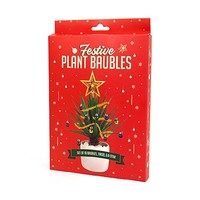 Festive Plant Baubles Christmas Holiday Decor