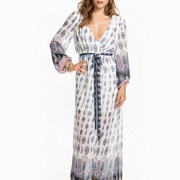 Wrapped Long Dress, NLY Trend