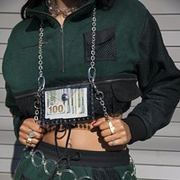 Side to Side Chain Pouch