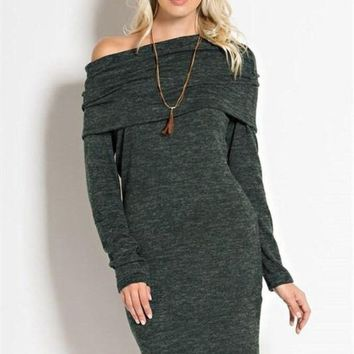 Warm Welcome Sweater Dress -