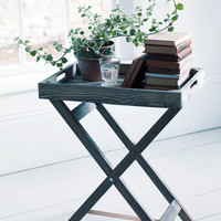 Rustic Wooden Tray Table - Indoor Living