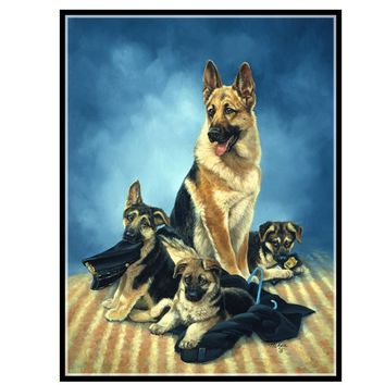 5D Diamond Painting German Shepherd Kit