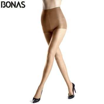 Sexy Nylon Tights Summer Solid Stretchy Slim Fashion Leg Tights Lady Spandex Resistant Black Tights