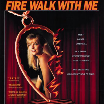 Twin Peaks: Fire Walk With Me 11x17 Movie Poster (1992)