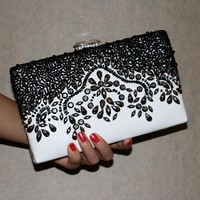 Clutches Evening Bag with acrylic