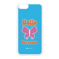 Sassy - Hello Gorgeous 10433 White Hard Plastic Case for iPhone 6 by Sassy Slang