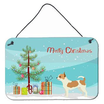 Chihuahua Christmas Tree Wall or Door Hanging Prints CK3530DS812