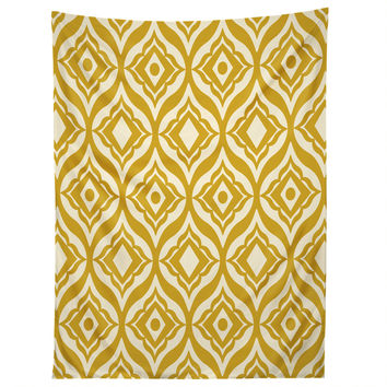 Heather Dutton Trevino Yellow Tapestry