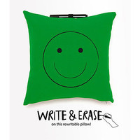 Note Me Rewritable Pillow Green