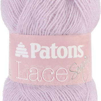 lace sequin yarn-pale amethyst