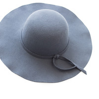 Edith Navy Hat