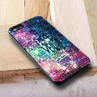 Pierce The Veil Quotes Cover | iPhone 4 4S iPhone 5 5S 5C and Samsung Galaxy S3 S4 S5 Case
