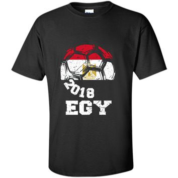 Egypt Team Soccer Russia Country Crest Ball 2018 T-shirt