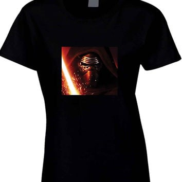 Star Wars The Force Awakens Kylo Ren Photo  Womens T Shirt
