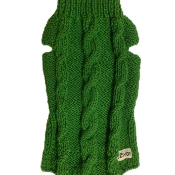 Cable Hand-knitted Jumper