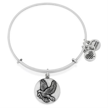 Sacred Dove Charm Bangle