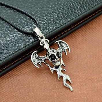 Stainless Steel Skull Necklace Pendant Necklaces Jewelry