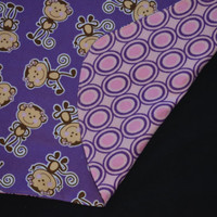 Reversible Baby Car Seat Canopy and Blanket - Monkey *ON SALE*