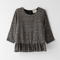 RUFFLED COMBO TOP