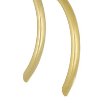 By Malene Birger - Gold-plated tube earrings