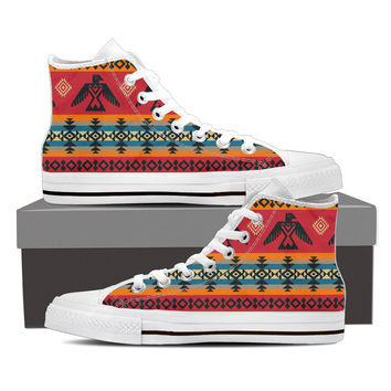 Native American Style CANVAS SHOE
