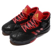 adidas Street Jam II 2 Black Red Mens Basketball Shoes AQ8552