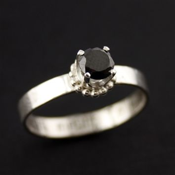 Nightmare Before Christmas Engagement Ring - Spiffing Jewelry
