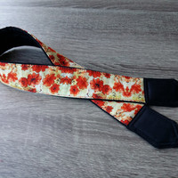 Floral Camera Strap. Flowers Camera Strap. Gift For Her. Dslr Camera Strap. Photo Accessories