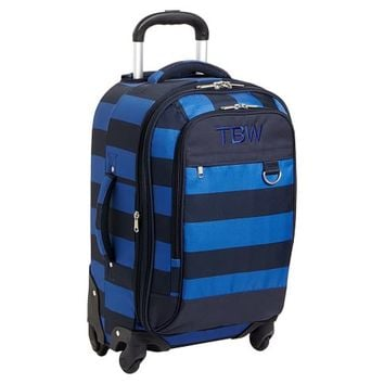 Getaway Blue/Navy Rugby Carry-On Suitcase