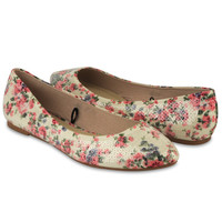 Sequined Floral Flats | FOREVER21 - 2000043543