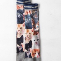 AEO Men's Cat Crew Socks (Multi)