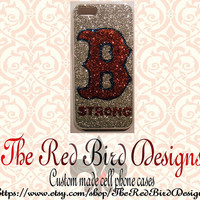 Glitter Boston Strong 4/4S OR iPhone 5 Cell Phone Bumper Case